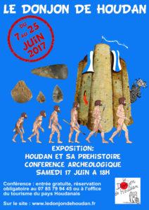 affiche houdan prehistoire 2