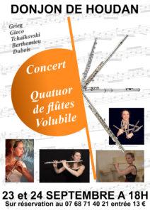 affiche concert flute site
